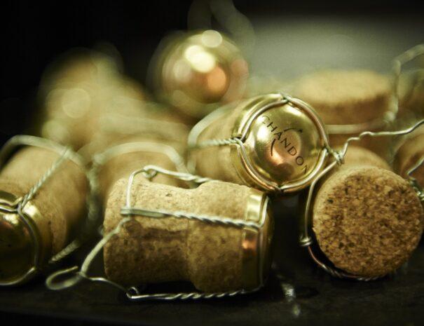 Domaine Chandon corks Yarra Valley Valley