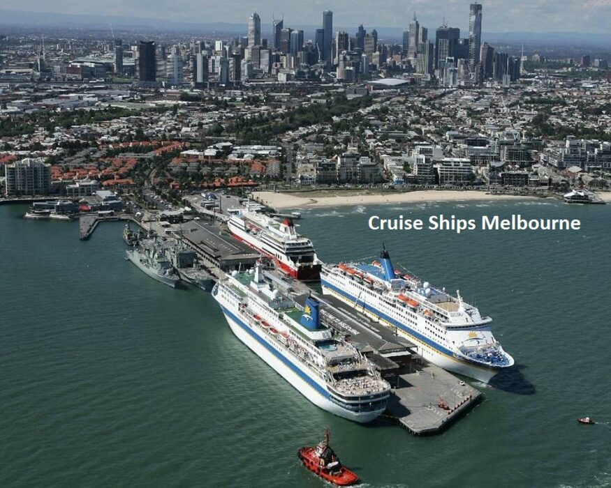 cruise ships Melbourne