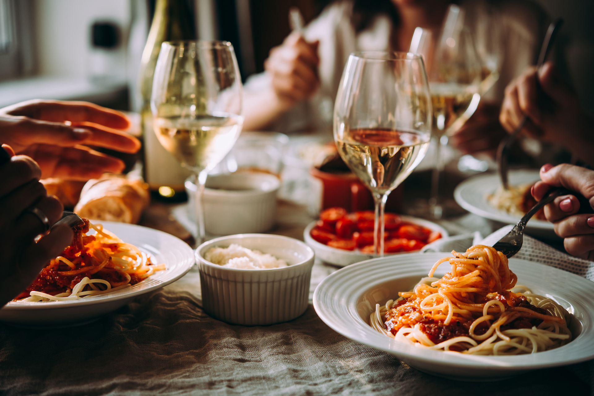 Wines Matched with Pasta